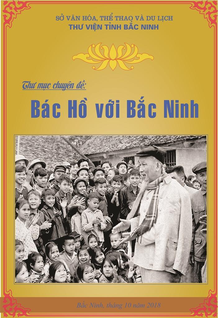 Bìa sách Bác Hồ về thăm BN
